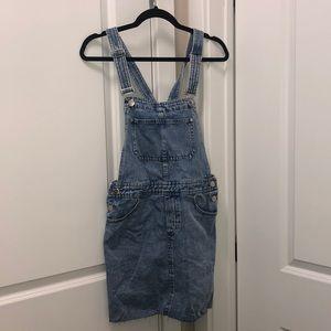 BRAND NEW mini jean dress!! NWT